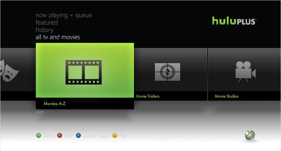 Hulu Icon Hulu plus xbox icons