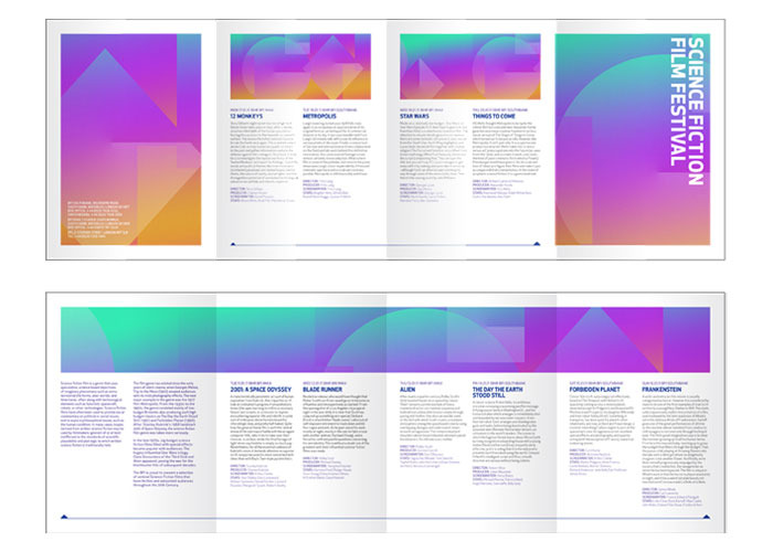 Film festival brochure carlygdesign for Festival brochure design