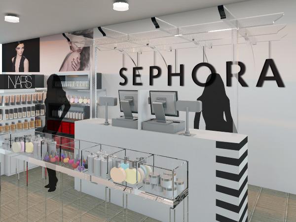 Retail Sephora Pop Up Andrea Coleman Interior Design