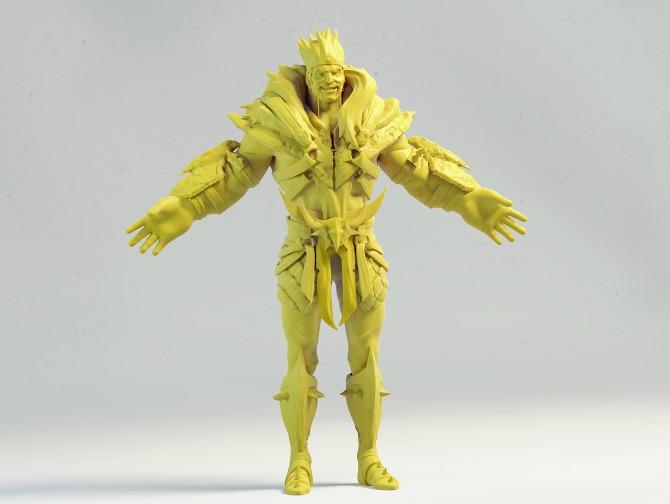 Cmivfx Character Concept Design Maya And Vray : D character sculpts robert borashan